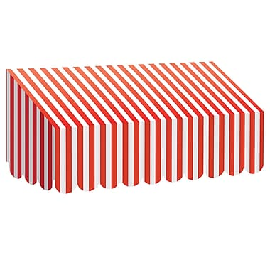 Teacher Created Resources Red & White Stripes Awning (TCR77165)