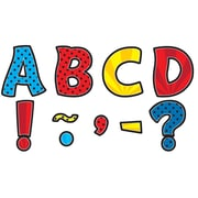 """Teacher Created Resources 3"""" Magnetic Letters, Superhero Funtastic (TCR77293)"""