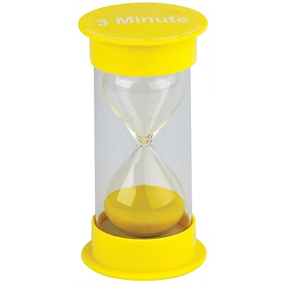 Teacher Created Resources 3 Minute Sand Timer - Medium (TCR20759)