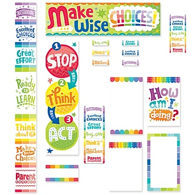 Creative Teaching Press Painted Palette Behavior Clip Chart and Desktop Clip Chart, 51/Set (CTP8937)