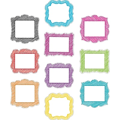 Teacher Created Resources Scribble Accents, 30/Pack (TCR2670)
