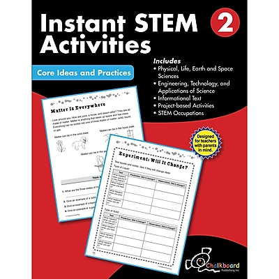 Creative Teaching Press STEM Instant Activities Workbook, Grade 2 (CTP8194)
