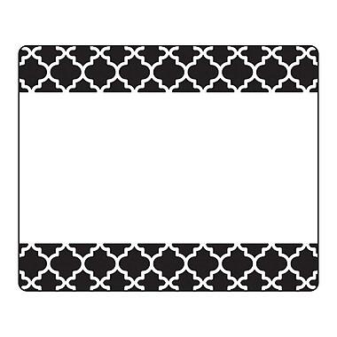 Trend Moroccan Black Terrific Labels™, 36 per pack, bundle of 6 packs, 3