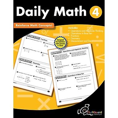 Daily Math Workbook, Grade 4 (CTP8190)