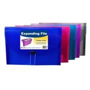 C-Line® 8-Pocket Spiral-Bound Poly Portfolio, Letter Size, Assorted Colors, bundle of 6 (CLI33080)