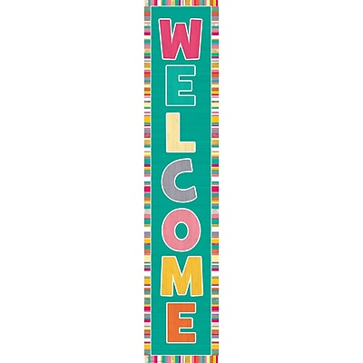 Teacher Created Resources Tropical Punch Welcome Banner (TCR2659)