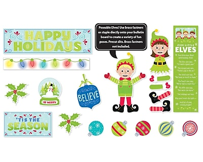 Creative Teaching Press Tis The Season Mini Bulletin Board, 25/Set (CTP6981)