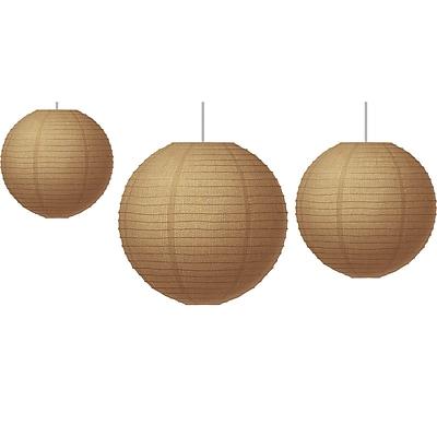 Teacher Created Resources Burlap Paper Lanterns, 3/Set (TCR77228)