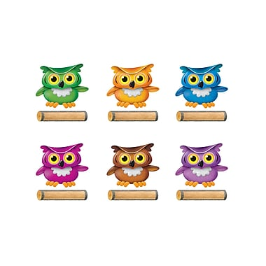 Trend Bright Owls Classic Accents® Variety Pack, 72/Pack (T-10652)