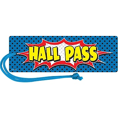 Teacher Created Resources Superhero Magnetic Hall Pass, bundle of 6 (TCR77273)
