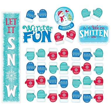 Creative Teaching Press Snow Much Fun Bulletin Board Set, 21/Set (CTP7072)