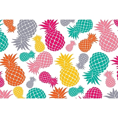Teacher Created Resources Tropical Punch Pineapples Postcards, 30/pk, bundle of 3 packs (TCR3483)