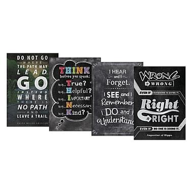 Creative Teaching Press Inspire U Chalk It Up! Pack 1 Charts, 4 Pack (CTP0550)