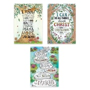 Creative Teaching Press Devotional Bible Verses Rejoice Inspire U Poster 3-Pack (CTP2276)