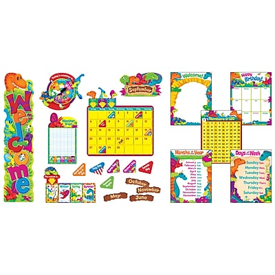 Trend Dino-Mite Pals® Everyday Room Décor Super Packs, 112/Set (T-51004)