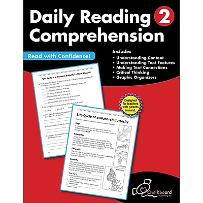 Daily Reading Comprehension Workbook, Grade 2 (CTP8182)