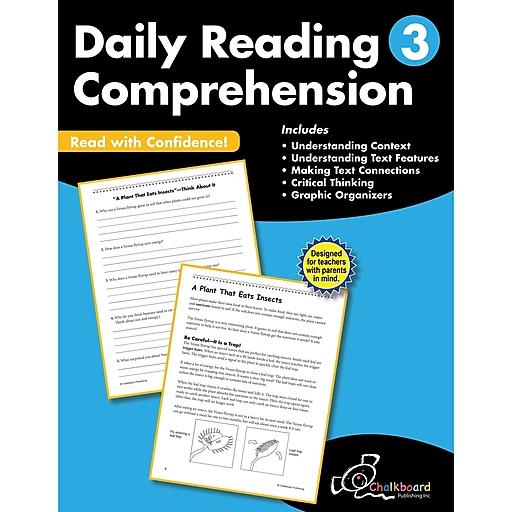 Daily Reading Comprehension Workbook, Grade 3 (CTP8183)