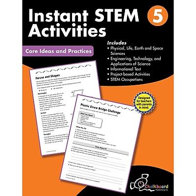 Creative Teaching Press STEM Instant Activities Workbook, Grade 5 (CTP8197)
