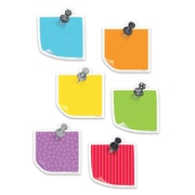 """Creative Teaching Press 3"""" Designer Cut-Outs, Bold & Bright Sticky Notes (CTP3450)"""