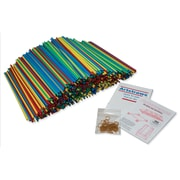 """Pacon Colored Artstraws® Assortment, 15.5"""" x 6 mm, Assorted Colors, 900 Pieces (PACAC9231)"""
