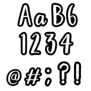"""Creative Teaching Press 4"""" Designer Letters, Bold & Bright Classroom Cafe (CTP1842)"""