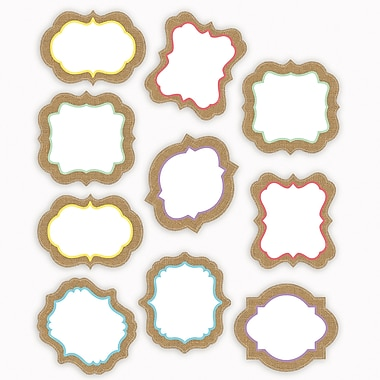 Teacher Created Resources Shabby Chic Burlap Accents, 30/Pack (TCR77192)