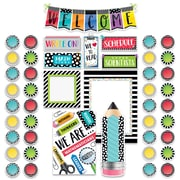 Creative Teaching Press Bold & Bright Welcome Bulletin Board, 46/Set (CTP3996)