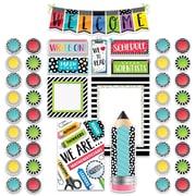 Creative Teaching Press Bold & Bright Welcome Bulletin Board, 46/Set (CTP3996)