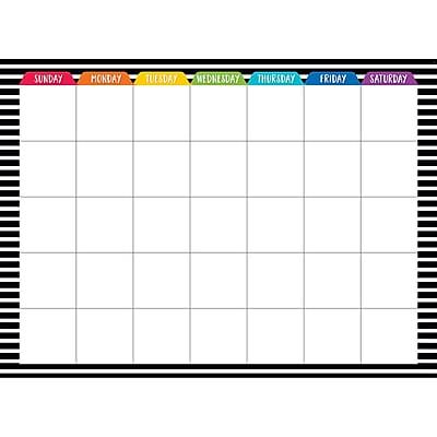 Creative Teaching Press Bold & Bright Calendar Chart (CTP0575)