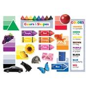 Creative Teaching Press Colors & Shapes Mini Bulletin Board, 50/Set (CTP6978)