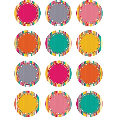 Teacher Created Resources Tropical Punch Accents, 30/Pack (TCR2660)