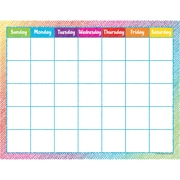 Teacher Created Resources Colorful Scribble Calendar Chart (TCR7525)