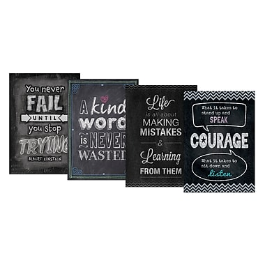 Creative Teaching Press Inspire U Chalk It Up! Pack 4 Charts, 4 Pack (CTP0564)