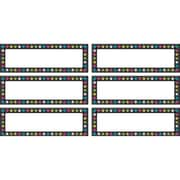 Teacher Created Resources Chalkboard Brights Labels Magnetic Accents, 20/Pack (TCR77299)