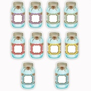 Teacher Created Resources Shabby Chic Mason Jars Accents, 30/Pack (TCR77191)