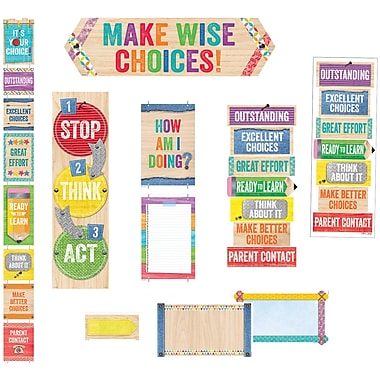 Creative Teaching Press Upcycle Style Behavior Clip Chart & Desktop Clip Chart (CTP8935)