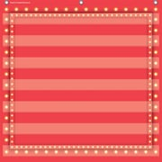 Teacher Created Resources 7 Pocket Pocket Chart, Red Marquee (TCR20783)