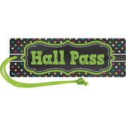 Teacher Created Resources Chalkboard Brights Magnetic Hall Pass, bundle of 6 (TCR77276)