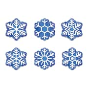 "Creative Teaching Press 6"" Designer Cut-Outs, Snowflakes (CTP6414)"