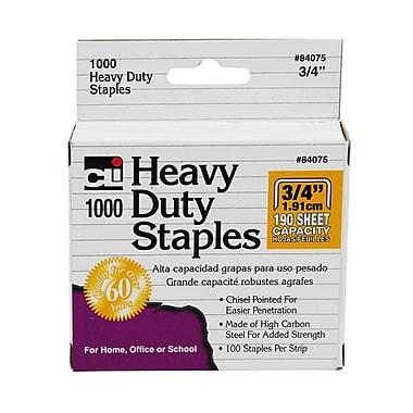 Charles Leonard Extra Heavy Duty Staples, 3/4