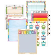Creative Teaching Press Upcycle Style Classroom Essentials Chart, 6 Pack (CTP5648)
