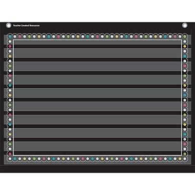 Teacher Created Resources 10 Pocket Pocket Chart, Chalkboard Brights (TCR20774)
