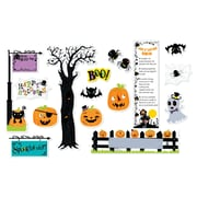 Creative Teaching Press Happy Halloween Mini Bulletin Board, 18/Set (CTP6980)