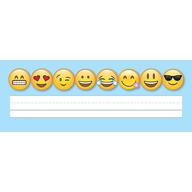 Creative Teaching Press Emojis Name Plates, 36 per pack, bundle of 6 packs, 9 1/2