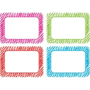 "Teacher Created Resources Scribble Name Tags/Labels - Multi-Pack, 36 per pack, bundle of 3 packs, 3 1/2"" x 2 1/2"" (TCR2689)"