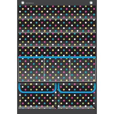Teacher Created Resources Place Value Pocket Chart, Chalkboard Brights (TCR20804)