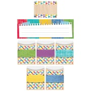 Creative Teaching Press Upcycle Style Name Plate/Label/Pockets Set, 107/Set (CTP8941)
