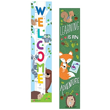 Creative Teaching Press Woodland Friends Banner (2-sided), (CTP8148)