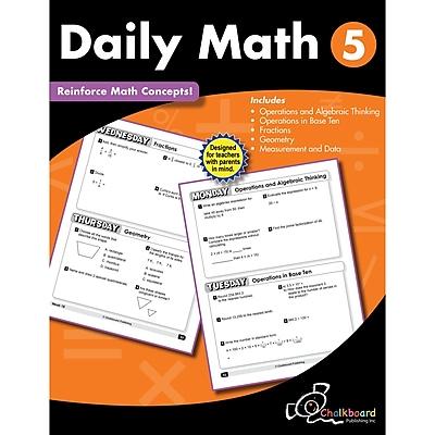 Daily Math Workbook, Grade 5 (CTP8191)