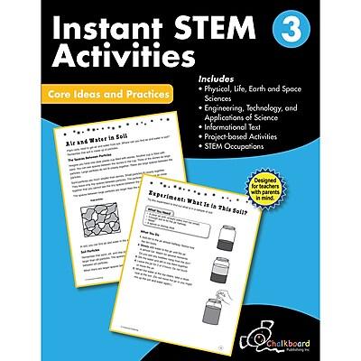 Creative Teaching Press STEM Instant Activities Workbook, Grade 3 (CTP8195)
